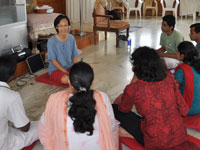 8 new Ambassador trainees being coached by Alvin in Bangalore